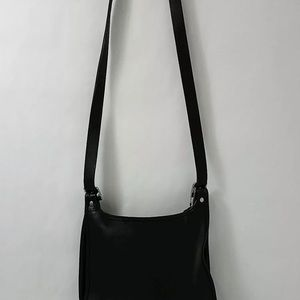 Vintage Black Coach 9315 Legacy Saddle Bag